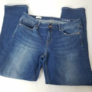 GAP Real Straight Medium Wash Women's Jeans 33